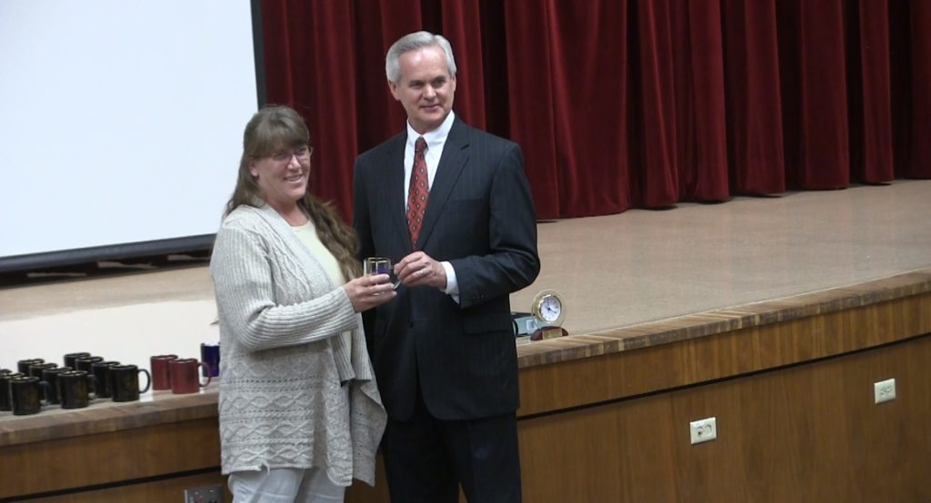 Foley recognizes long-time state employees for their service