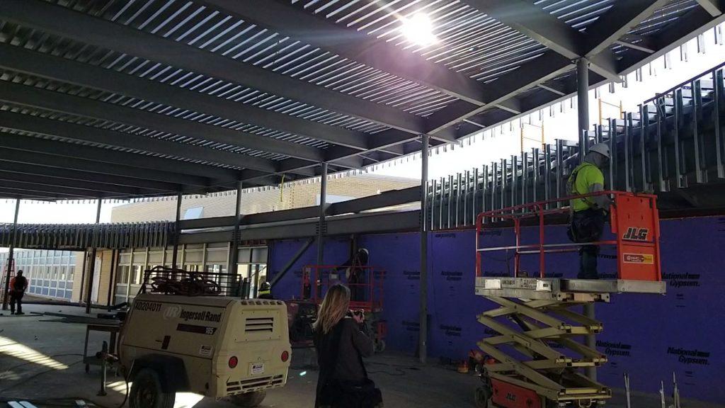 GHS construction starting to meet goals