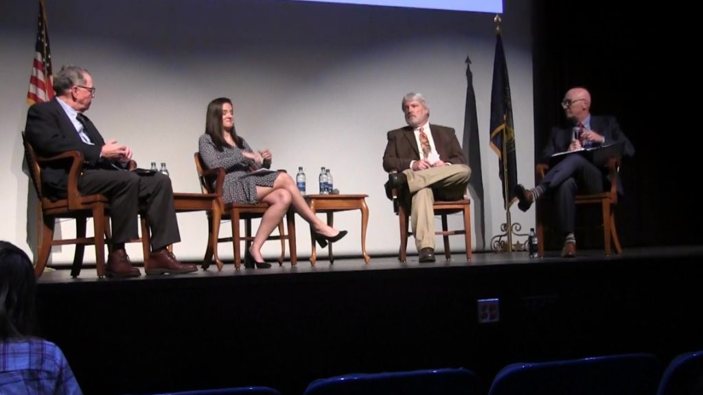 175 people attend democracy and journalism forum