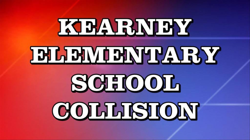 Crash doesn't stop classes at Kearney elementary school