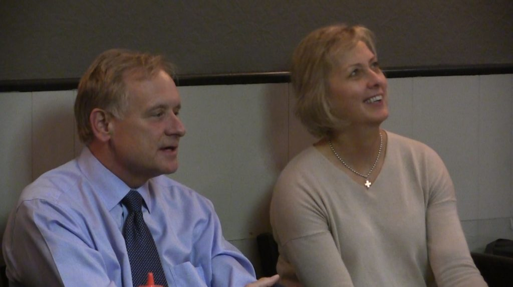 Krist and Walz continue 15 city campaign tour with stops in Panhandle