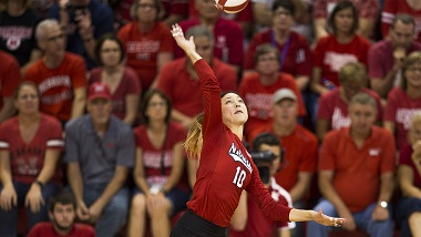 Huskers fall in five sets at Penn State