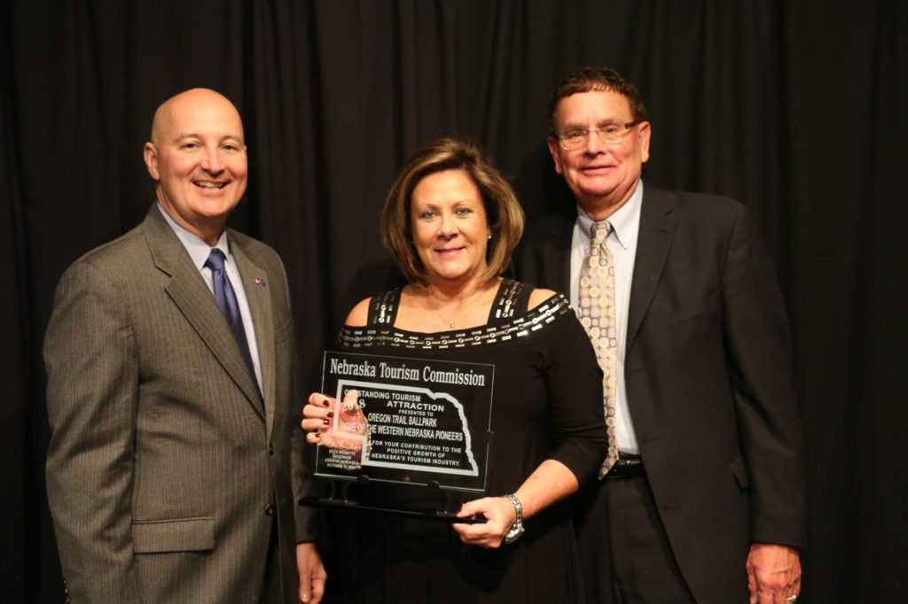 Oregon Trail Park Stadium receives tourism award