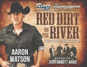 Red Dirt on The River to feature Aaron Watson, Josh Abbott Band