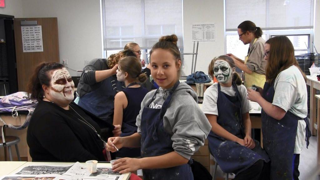 "SHS students prepare for ""Zombie Escape Room"" fundraiser"