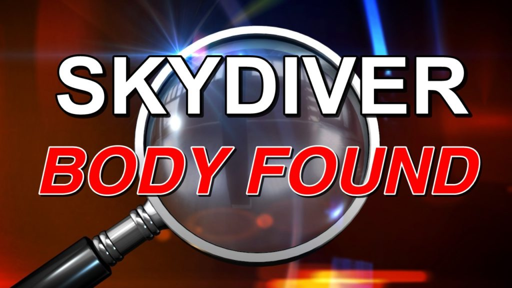 Body of missing skydiver found near Colorado airport