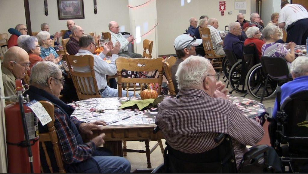 Local veterans groups bring Halloween to Western NE State Veterans Home