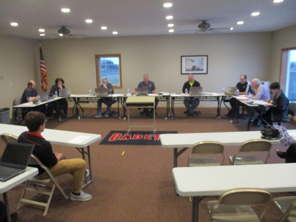 West Point Beemer School Board Meeting – 10-8-18