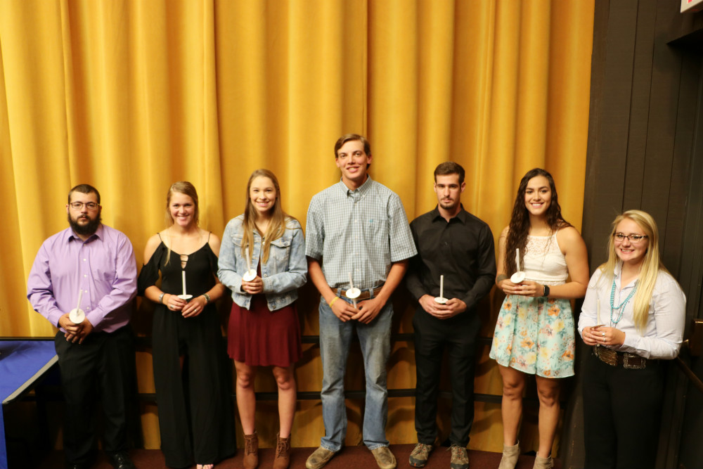EWC Phi Theta Kappa inducts nine new members