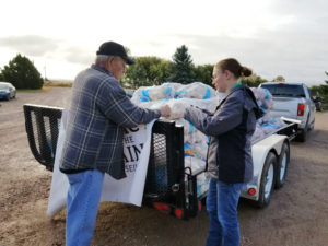 Legacy of the Plains Museum delivers 3,000 lbs of potatoes