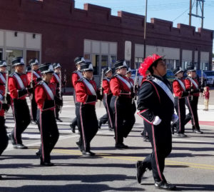 High School Bands compete in Old West competition