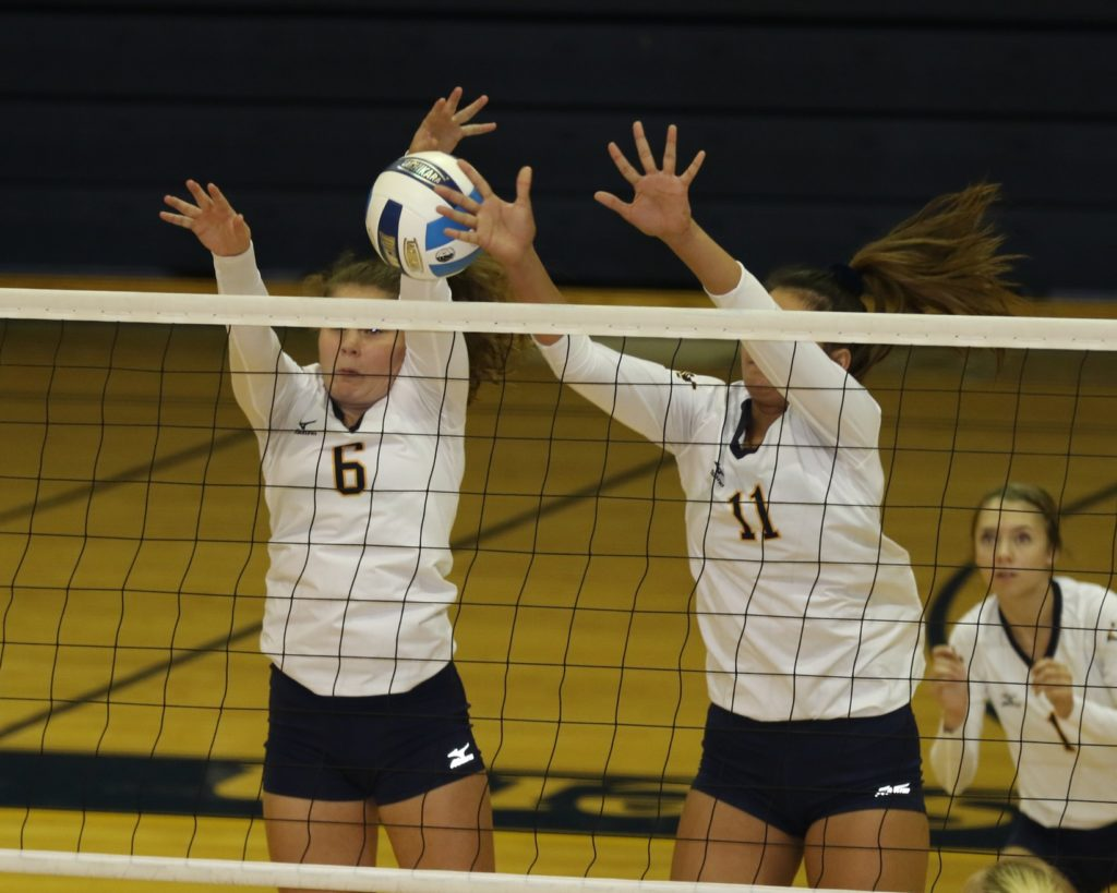 WNCC volleyball team sweeps Trinidad