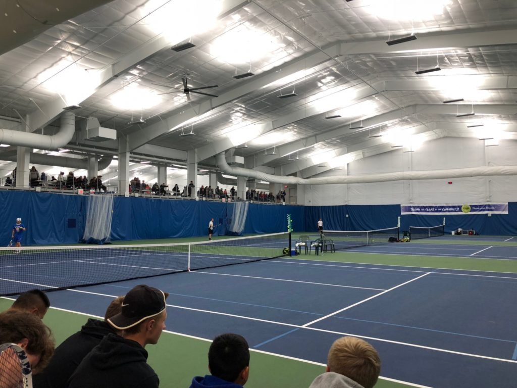 Gering, Scottsbluff, and Alliance compete at Boys State Tennis