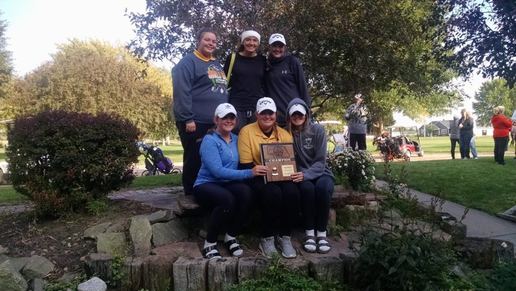 Girls district golf results