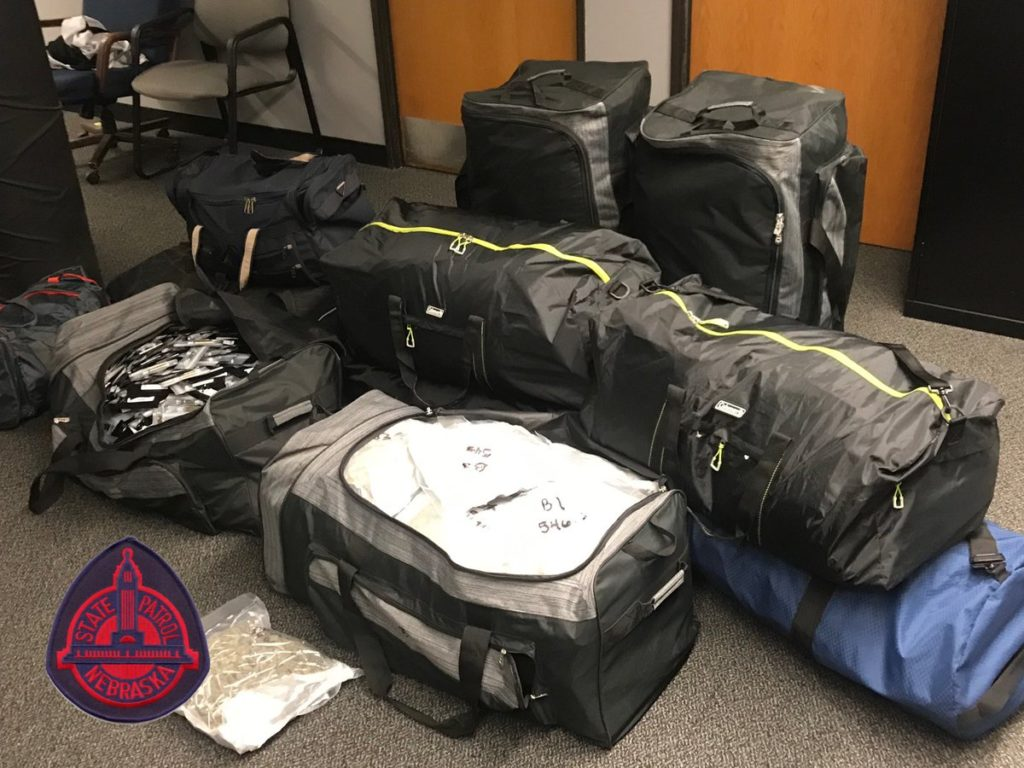 NSP nets large amount of pot, THC in Omaha traffic stop