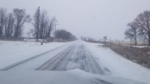 Winter storm brings slick travel conditions
