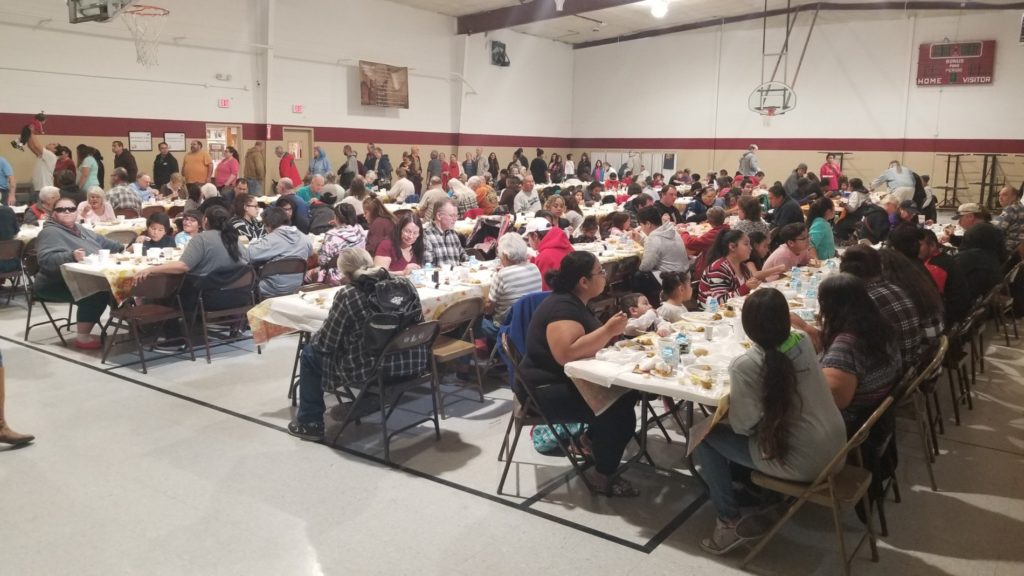 Nearly 800 served in 35th Thanksgiving in the Valley