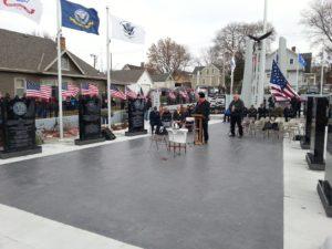 (Audio)  Hundreds Attend Dedication Of New American Veterans Park