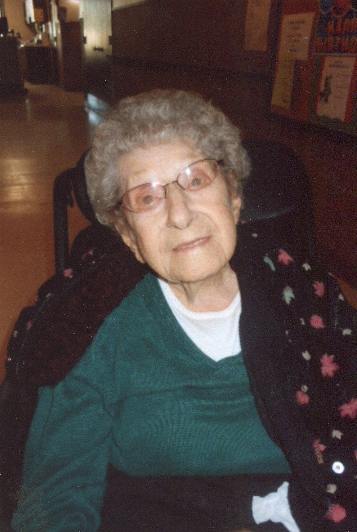 Angela Mendlik Dostal Dvorak, 103, of Howells, Nebraska