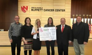 Fueling with ethanol yields $6,100 for local cancer center
