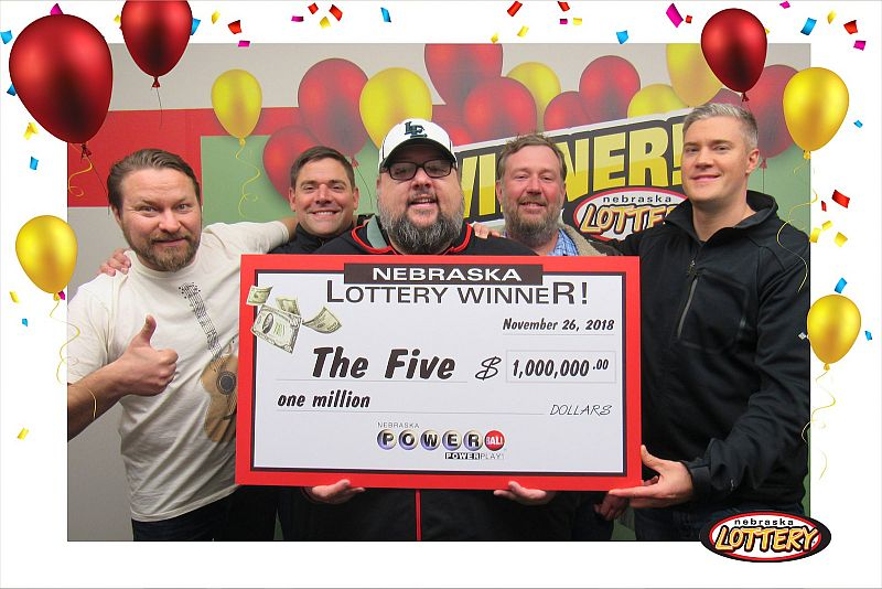 Five Lincoln Friends Win $1 Million Playing Powerball