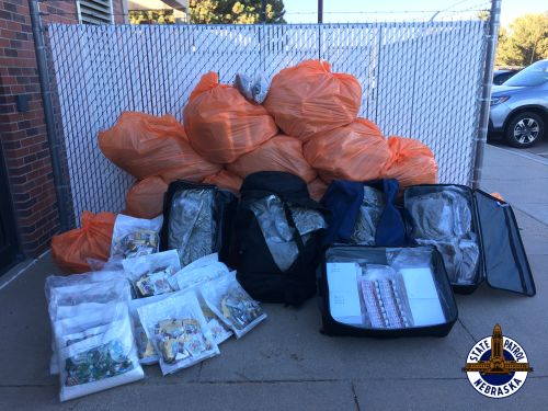 Troopers Find 300 LBs of Marijuana, THC Products in I-80 Traffic Stop