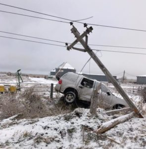 Power restored in west Kearney following vehicle accident
