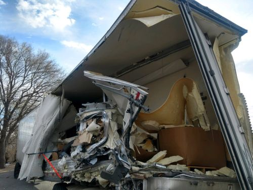 One injured in two-semi crash west of Cozad | York's Max Country
