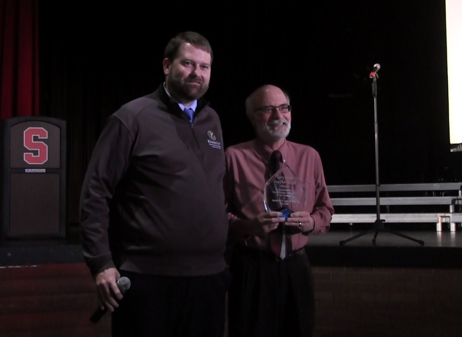 SHS Teacher Gary Largo honored for 40 years of Key Club Service