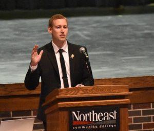 Northeast observes Veterans Day