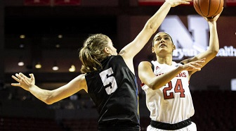 Husker Women Come Up Short at Louisville