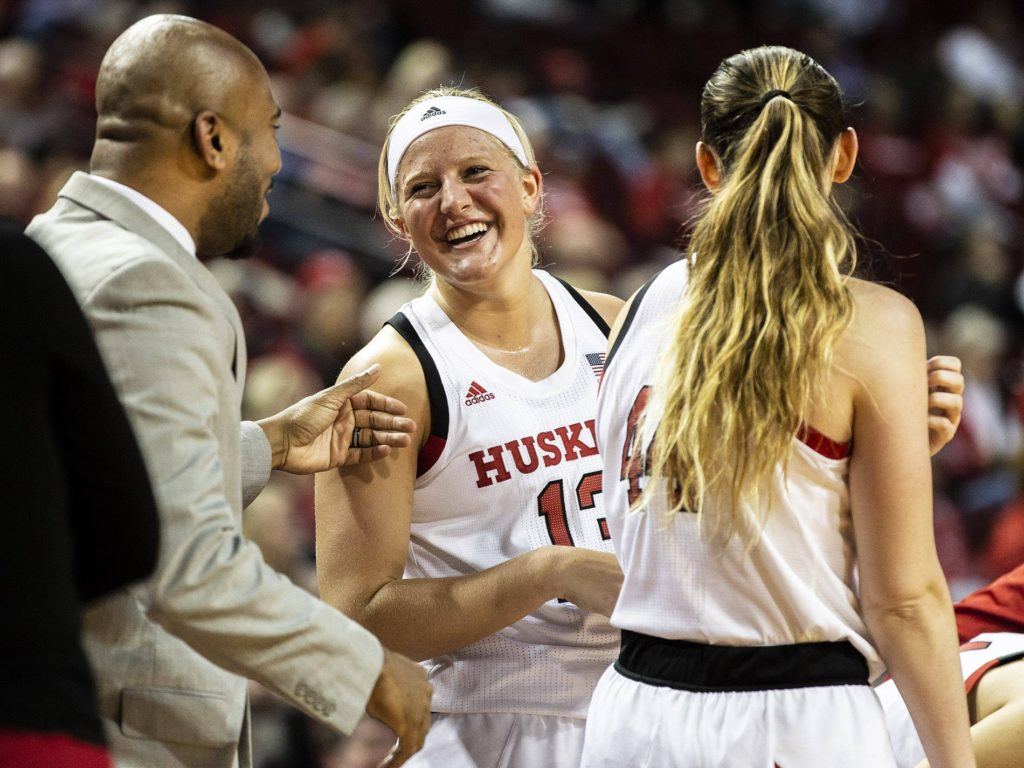 Huskers Roll Past Highlanders, 77-39