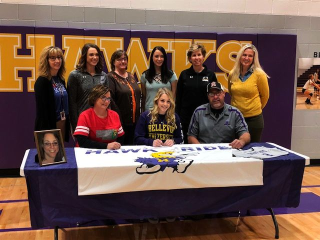 Hampton's Klassen inks with Bellevue University
