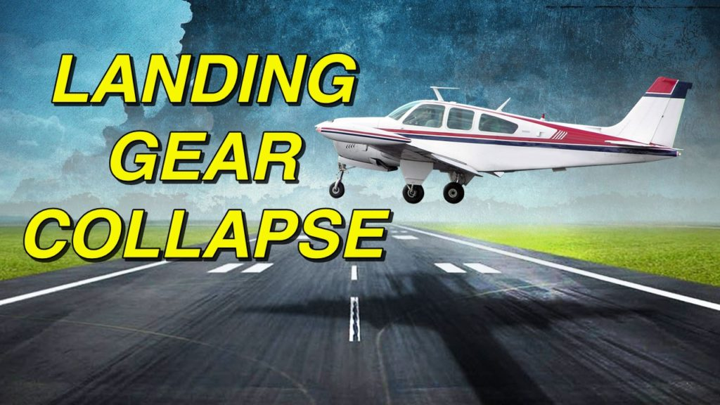 Pilot unhurt when landing gear on small plane collapses