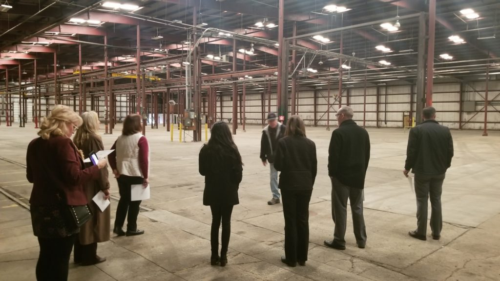 NDED group takes local economic development tour