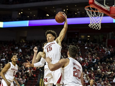 Huskers defeat Wayne State in Exhibition Action