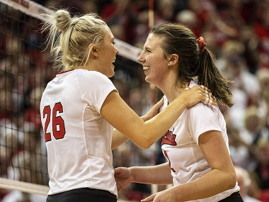 Five Huskers Earn Big Ten Postseason Honors