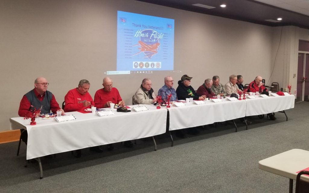 11 veterans headed to Washington D.C. in latest honor flight