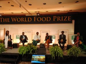Nebraska students, visiting scholar engage with global leaders at World Food Prize