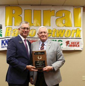 NFU's John Hansen honored at NRRA's annual meeting