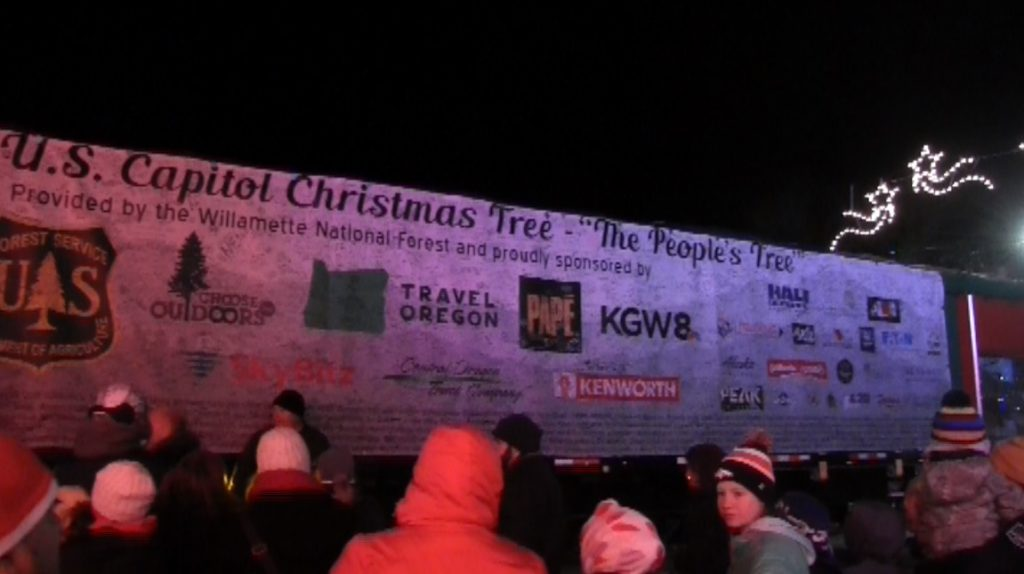 U.S. Capitol Christmas Tree makes stop in Scottsbluff