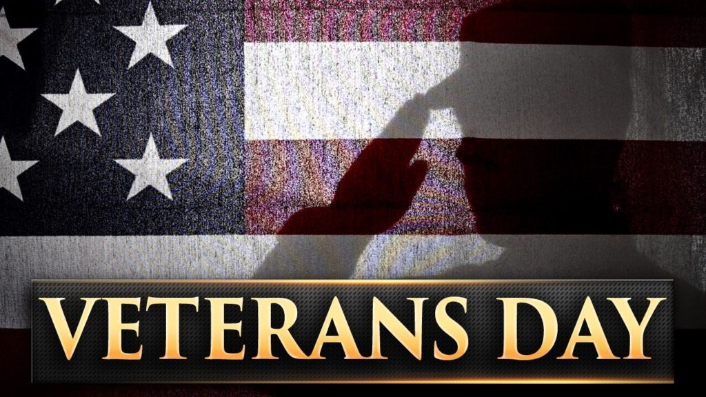 Many activities planned to honor Veterans this weekend