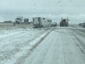 Weather-Related Accidents Keep Troopers Busy