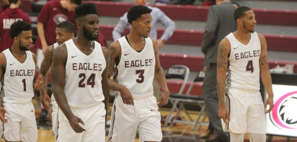 Eagles' late surge falls short at NSU