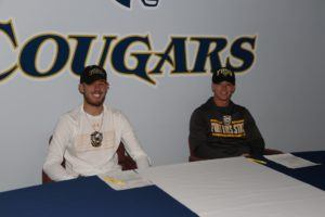 WNCC baseball players Parker, Berg ink with Ft. Hays State