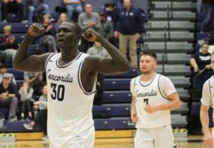 Biel, Sloup lead overtime win over Hastings
