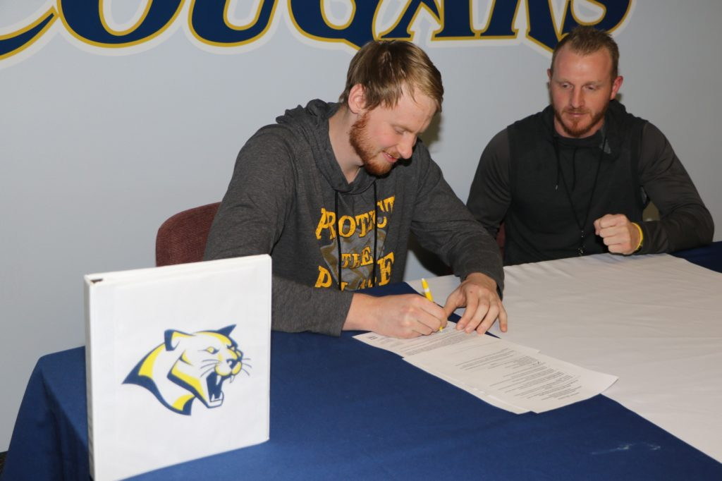 WNCC's Roub inks with Division I Jacksonville State