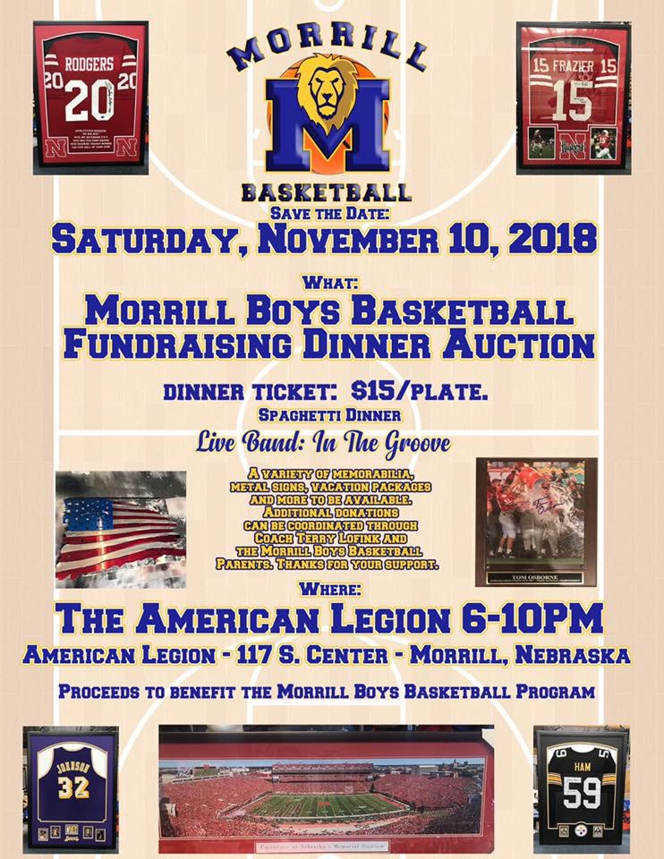 Morrill boys basketball fundraiser coming up this Saturday