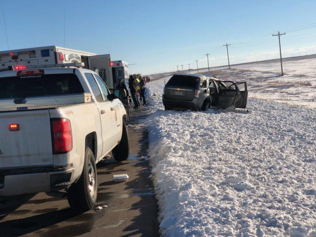 Nebraska State Patrol deals with crashes, motorist assists and slide-offs