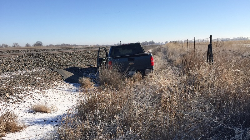 Seat belt usage limits injury in rollover accident west of Morrill